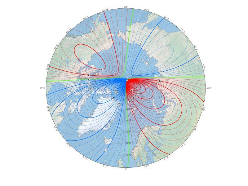 New World Magnetic Model for B&G Deckman